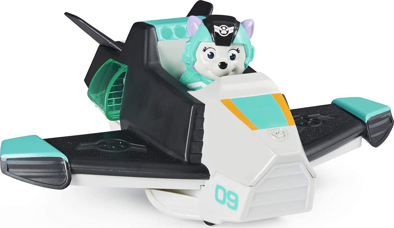 Paw Patrol, Jet to The Rescue Everest Deluxe Transforming Vehicle with Lights and Sounds (Эверест и самолет)
