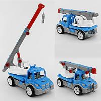 Машина Автокран 3893 (4) колір синій ТЕХНОК в коробці