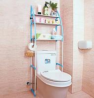 Стеллаж над унитазом, этажерка напольная в туалет, органайзер для туалета, стеллаж для туалета, магазин Gipo