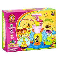 Тесто для лепки 7222 Замок солодощів (12) в коробке FUN GAME