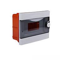 ElectroHouse Бокс пластиковый модульный для внутренней установки на 9 модулей