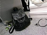 Стильный женский черный рюкзак