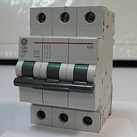 Автоматический выключатель 3р 40А General Electric
