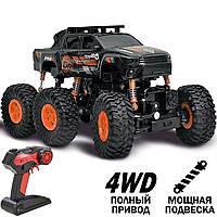 Дитячий радіокерований позашляховик DongBang DB-2060 Crawler Xtreme, 4.8 V, 4 WD, чорно-помаранчевий, фото 1