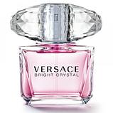 Женские духи Versace Bright Crystal, Женская туалетная вода Версаче Брайт Кристал, Парфюм Версаче Кристал, фото 3