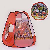 Палатка детская Супергерои 8006 AS (48/2) 120 х110 х110 см в сумке