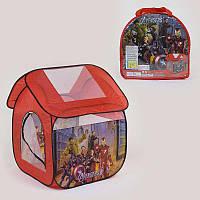 Палатка детская Супергерои 8009 AS (48/2) 112 х102 х114 см в сумке