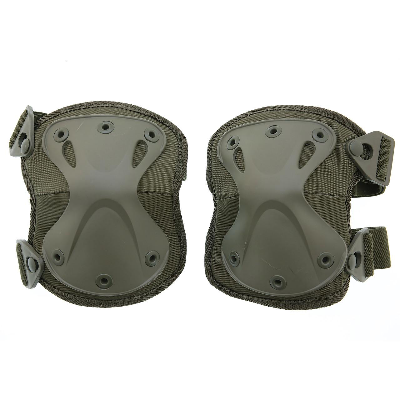 Наколенники армейские оливковые  MIL-TEC Protect Olive  16231301