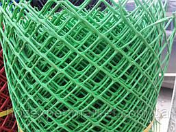 Сетка садовая пластиковая ,заборы.Ячейка 13х13 мм,рул 1х20м, фото 3