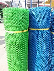 Сетка садовая пластиковая ,заборы.Ячейка 13х13 мм,рул 1х20м, фото 2