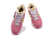 Женские зимние кроссовки New Balance 996 pink