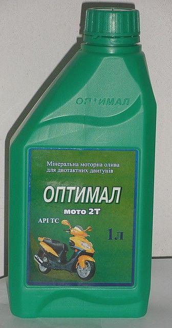 Масло моторне Оптимал Мото 2T 1л