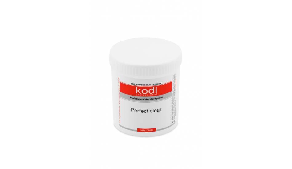 Kodi Professional Perfect Clear Powder (прозрачный, базовый акрил), 500гр.