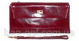 Женский кошелек из натуральной кожи JCCS (19x10 см)