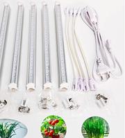 Комплектуючі для ламп Т8, лампотримачі, патрони, світильники Т8, кабелі