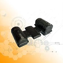 Подушка передней рессоры КрАЗ 214-2902430-А2