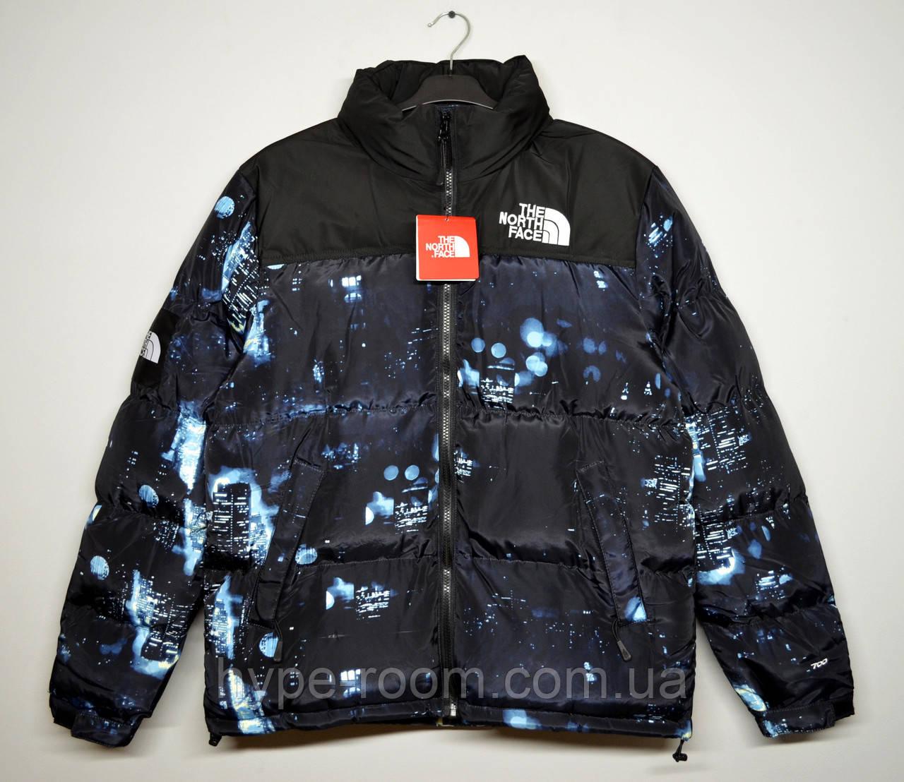 Мужская зимняя куртка The North Face ночной город
