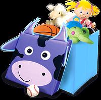 Детский раскладной пуф Зоопарк