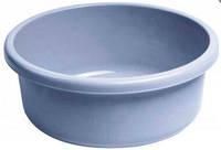 Миска круглая пластиковая 9л 360Х360Х125 мм мраморная Curver CR-0131