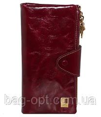 Женский кошелек из натуральной кожи JCCS (10x17.5 см)