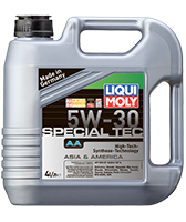 Моторное масло синтетика LIQUI MOLY 5W-30 4L SPECIAL TEC АА Honda, Hyundai, Kia, Mazda, Mitsubishi, Nissan, GM