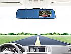 """Автомобильный видеорегистратор зеркало L-9002 2 камеры, 1080 Full HD, экран 4,3"""", фото 3"""
