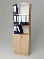 Шкаф для документов со стеклянными дверцами 600*320*1860h