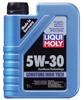 Моторное масло синтетика LIQUI MOLY 5W-30 1L Longtime High Tech для BMW , Volkswagen , Mercedes-Benz , Ford