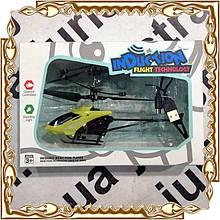 Вертолет сенсорн. управл., LED-подсветка, USB-зар., гироскоп, в кор. JJOO 802-3-4