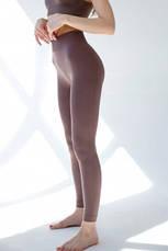 Классические женские бесшовные леггинсы LEGGINGS ТМ Giulia размер S/M model 01, фото 3
