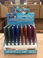 Ручка шариковая ''Пишиет-стирает'' с резинкой 0,5мм (40 штук\дисплее)