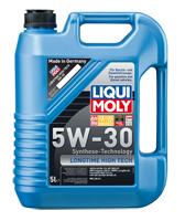 Моторное масло синтетика LIQUI MOLY 5W-30 5L Longtime High Tech для BMW , Volkswagen , Mercedes-Benz , Ford