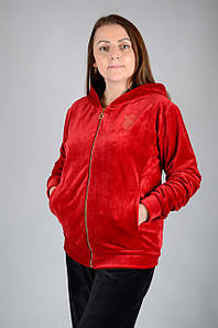 Велюровый женский спортивный костюм K131-2
