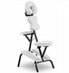 Кресло массажное складное до 130 кг белое, фото 2