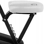 Кресло массажное складное до 130 кг белое, фото 6