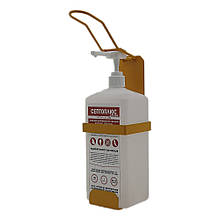Локтевой дозатор c антисептиком Септоплюс-ультра 1л SK EDW1К WS желтый RAL 1003
