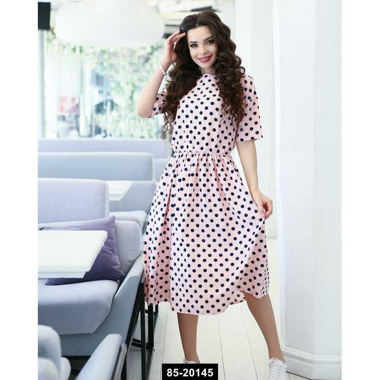 Платья  11649  L розовый, L-XL размер международный, 85-20145