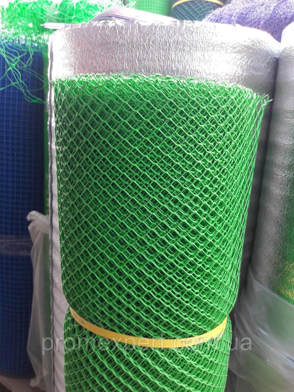 Сетка садовая пластиковая ,заборы.Ячейка 13х13 мм,рул 1х20м