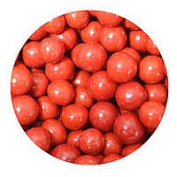 """Посыпка """"Хрустящие шарики в шоколаде и сахарной глазурь (красные) (10-14 мм.)"""", 50 гр., фото 1"""