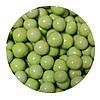 """Посыпка """"Хрустящие шарики в шоколаде и сахарной глазурь (салатовые) (10-14 мм.)"""", 50 гр."""