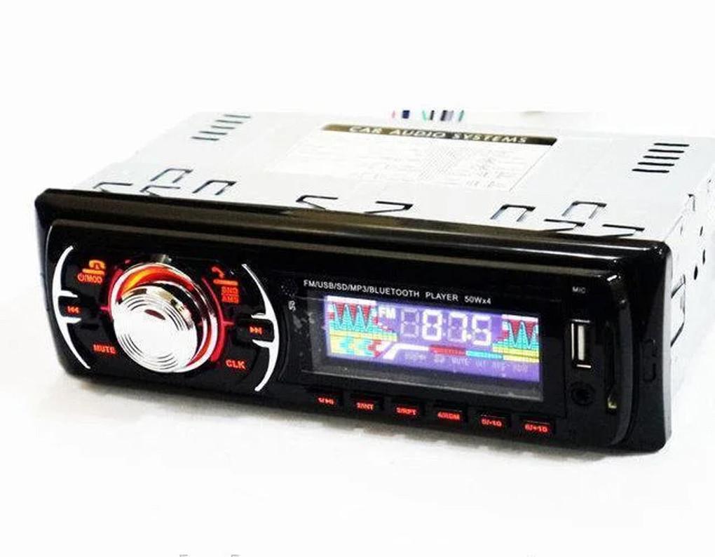 Автомагнитола МР3, Bluetooth, USB, SD, Aux