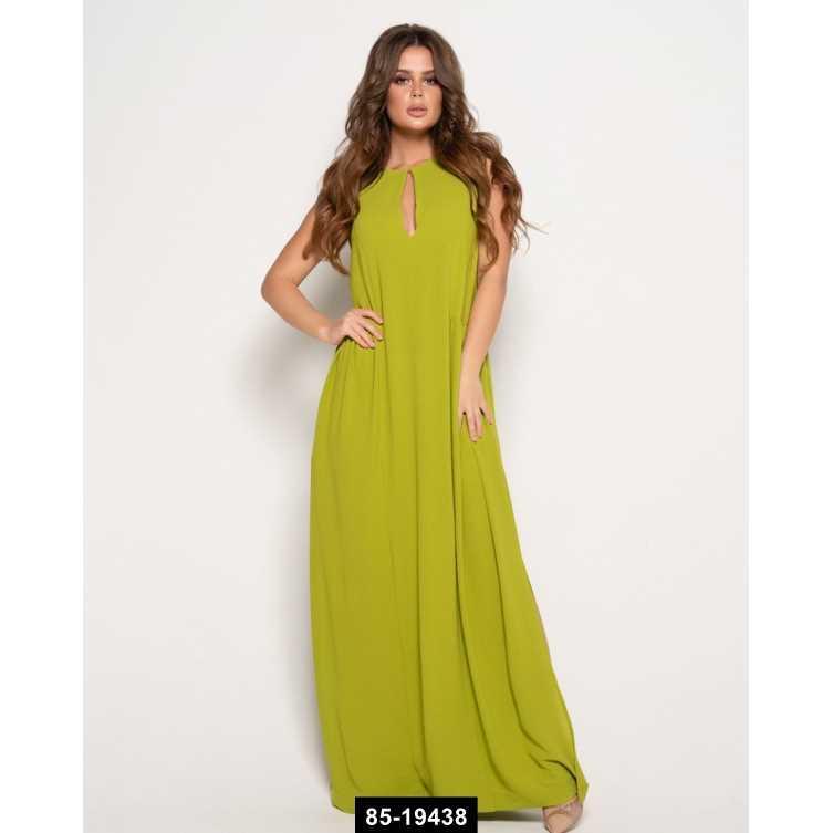 Платья  10630  M оливковый, M размер международный, 85-19438