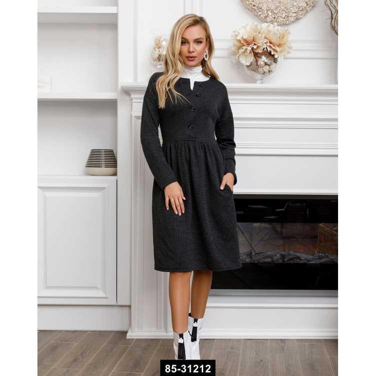 Платья  SA-81  S темно-серый, S размер международный, 85-31212