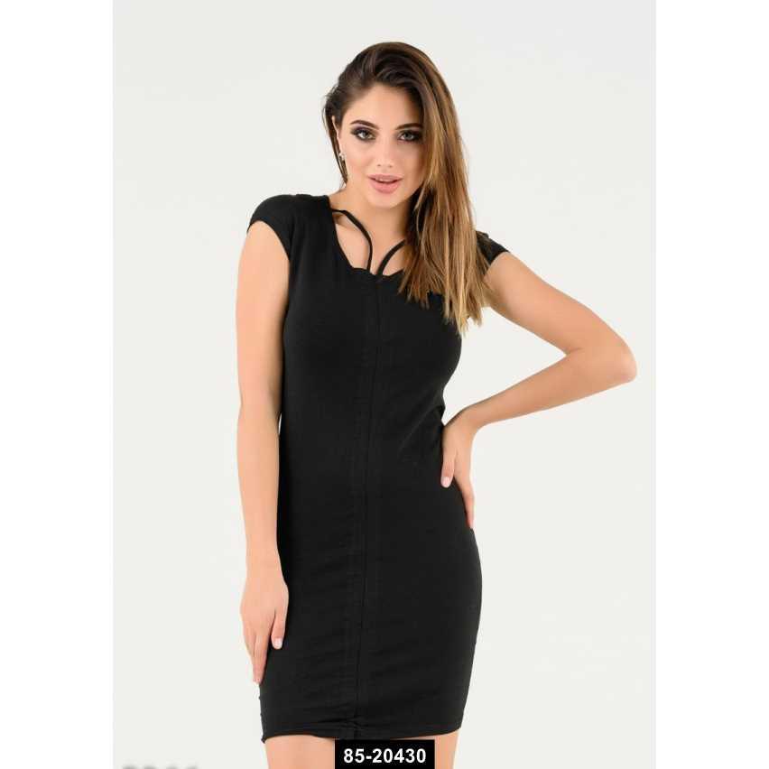 Платья  5366  S черный, S размер международный, 85-20430
