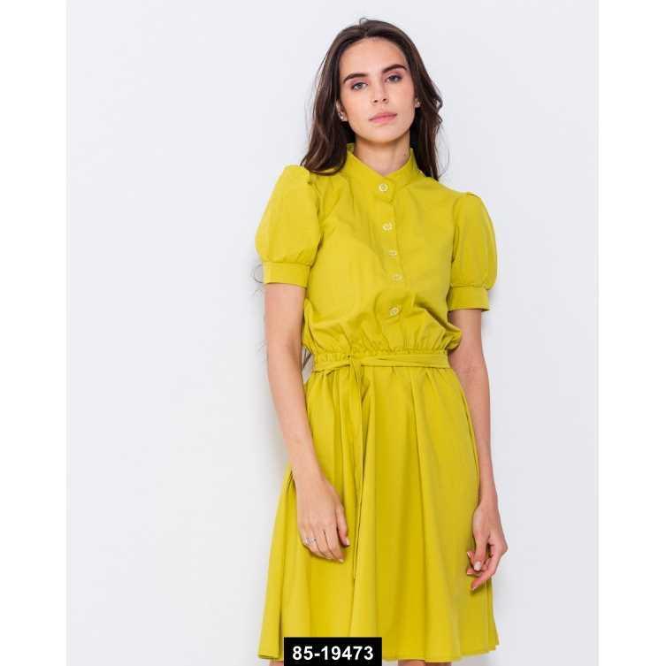 Платья  10747  XL оливковый, L-XL размер международный, 85-19473