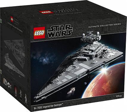 Lego Star Wars Имперский звёздный разрушитель 75252