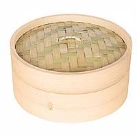 Бамбуковая пароварка Крышка, 15 см, 1 шт