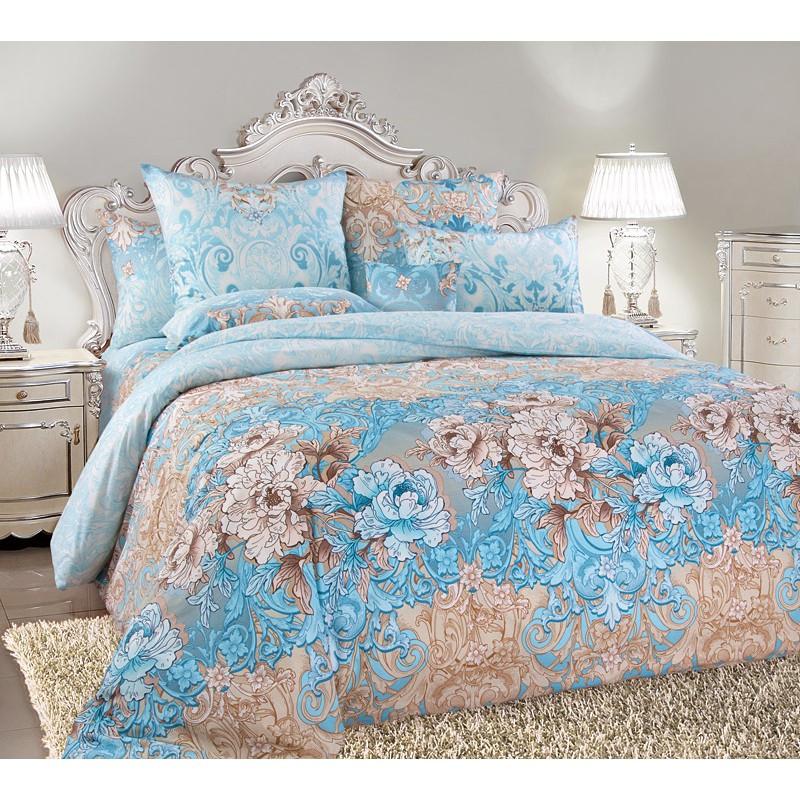 Комплект постельного белья Царский Дом ВИВЬЕН (Перкаль) Двухспальный