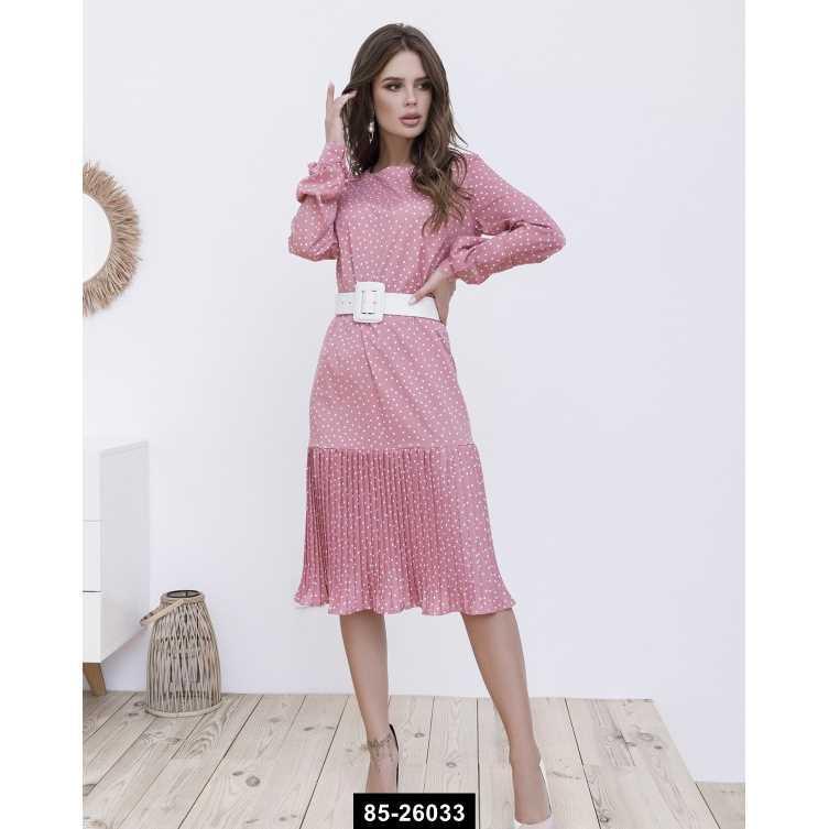 Платья  12108  XL розовый, L-XL размер международный, 85-26033
