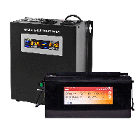 Комплект резервного питания Logicpower W2000 + литеевая (LifePo4) батарея 2600 ватт, фото 1